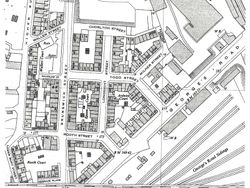 O/S Map of George's Road in 1960's