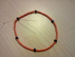 Orange & blue Bracelet