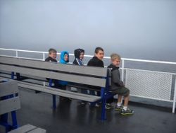 Topside on the Ferry