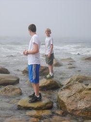 At Mohegan Bluffs