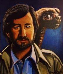 """""""Steven Spielberg"""", """"E.T"""","""