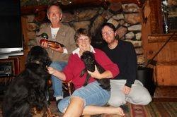 Family in Fawnskin