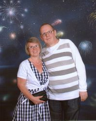 me and my wife julie
