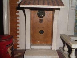 unpainted front door