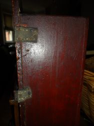 Leather hinges