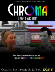 """""""Chroma"""" Promotional Poster SIFF Fall 2013"""