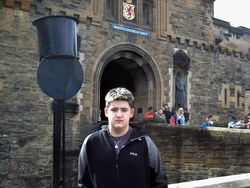Nicholas at Edinburgh Castle