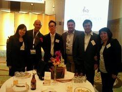 Business meeting in Fukuoka