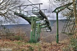 Chairlift in decay