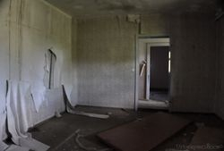 Abandoned guesthouse
