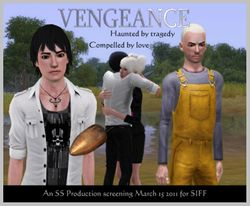 Vengeance Movie Poster by SS Productions