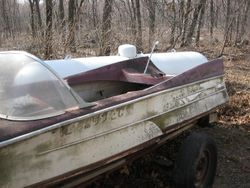 Original windshield and moldings