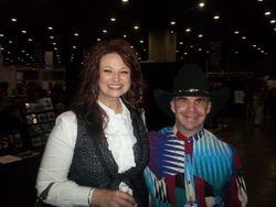 me and charlotte ritchie NQC 2012