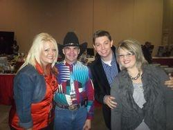 me and vonda easley & josh & ashley franks NQC 2012