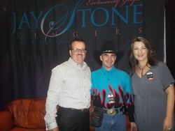 me and bobby and sharona carter of the jay stone singers NQC 2012
