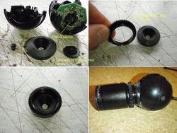 Logitech C120 webcam modification
