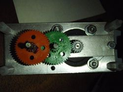 Modified Gearbox for RA drive on EQ3-2