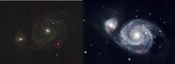 M51 Supernova (reported 02/06/2011)