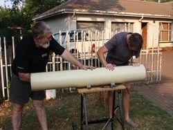 Cobus's telescope - First light