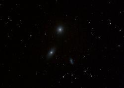 M105, NGC2284, NGC3389