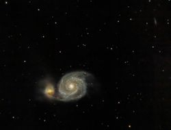 M51 - Whirlpool Galaxy (re-processed)