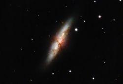 M82 - Cigar Galaxy (+ SN2014J)
