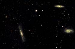 Leo Triplet - M65 M66 NGC3628