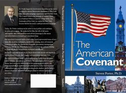 The American Covenant by Dr. Steven Porter