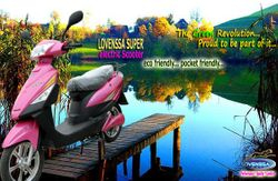electric scooter_Lovenssa Super