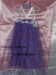 Custom Tutu dress with hair tie