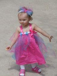Pink Ribbon Tutu dress