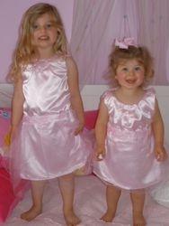 Big Sister Little Sister Princess dresses