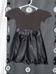 Black Baby Funeral Dress