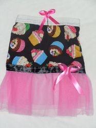 Cupcake Tutu with matching hair tie