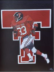 Texas Tech running back