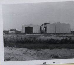 Two Fuel Tanks with a third between