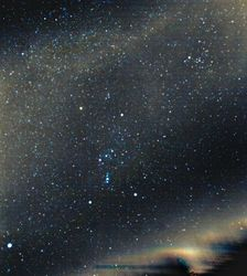 Orion and the Milky Way