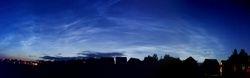 Noctilucent Clouds seen at BLAS