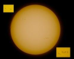 Sunspots 16-02-11