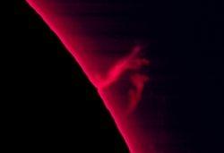 Loop prominence 21-09-10