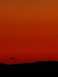 Venus setting 1