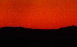 Venus setting 3