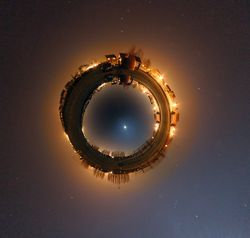 Little Planet projection BLAS