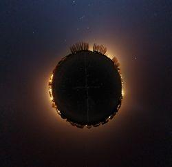 Little Planet projection 2 BLAS
