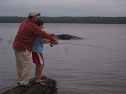 Teaching the Secrets of Fly Fishing
