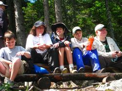 Scouts on Lobster Mountain - See the Troop  Log