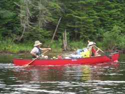 Scoutmaster's Canoe