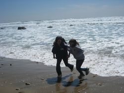 Running away from the Waves