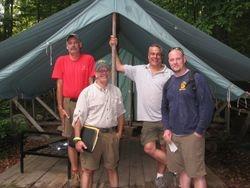 2009 Yawgoog Leaders in Camp