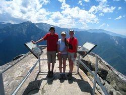 Moro Rock- Sequoia National Park